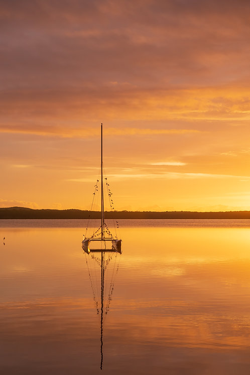 Lake Weyba Sunrise, Noosa, Queensland