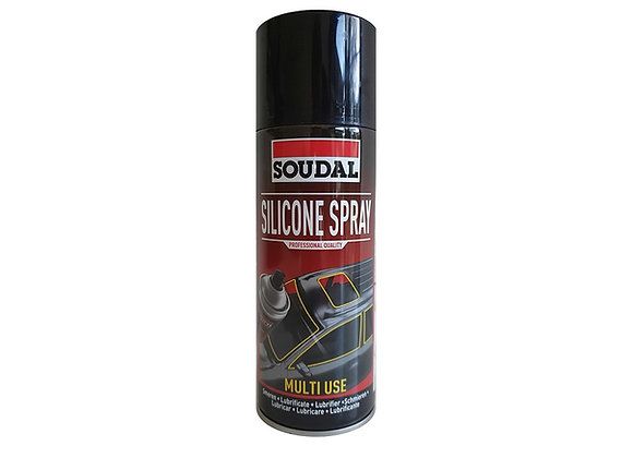 Silicone spray 400 ml (multi use) - soudal