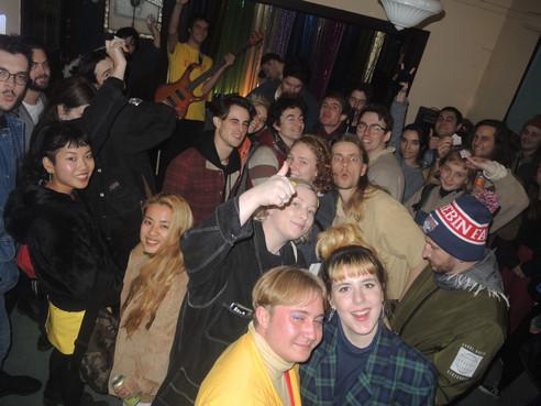 Beautiful crowd at BUSHRAISER II