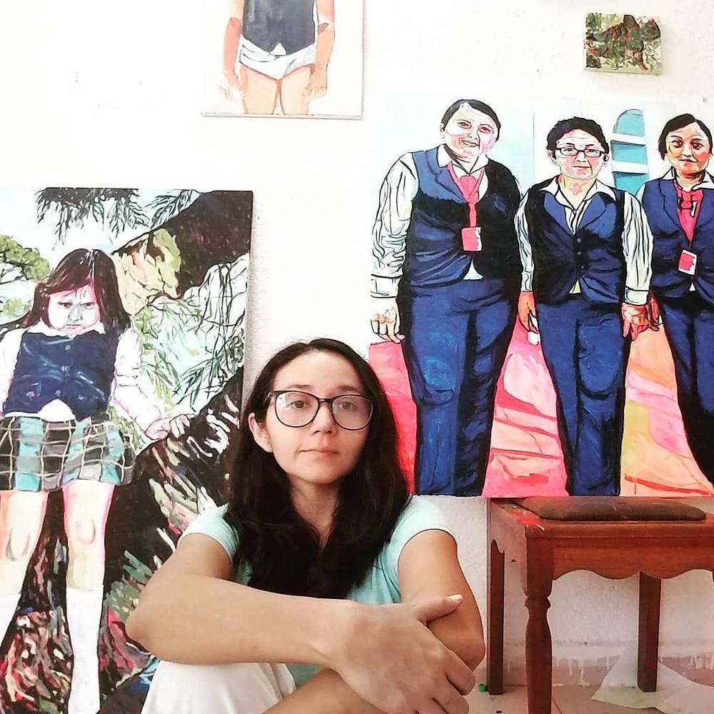 Pintora yucateca, mujer en el arte