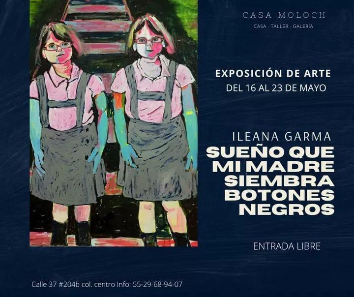 Exposicion de Pintura en Valladolid de Ileana Garma.