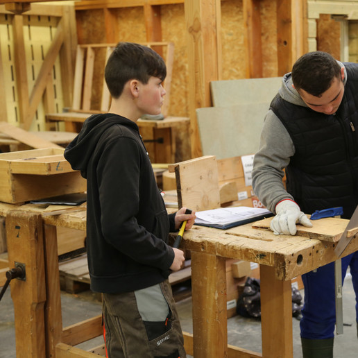 L'atelier bois