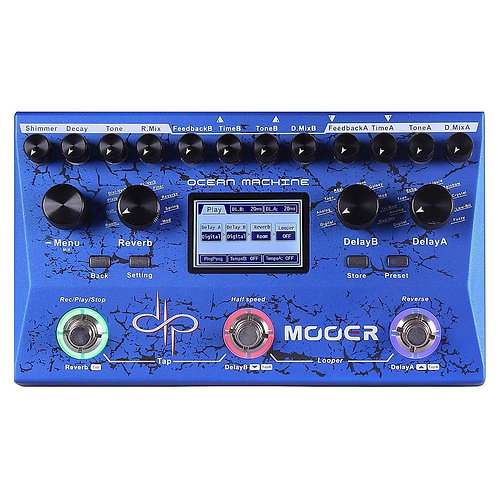 Mooer - Delay/Reverb - Ocean Machine