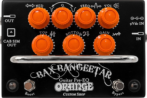 Orange Bax Bangeetar Preamp