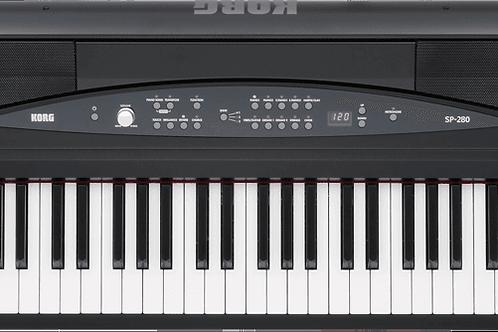 KORG Piano SP280 BK