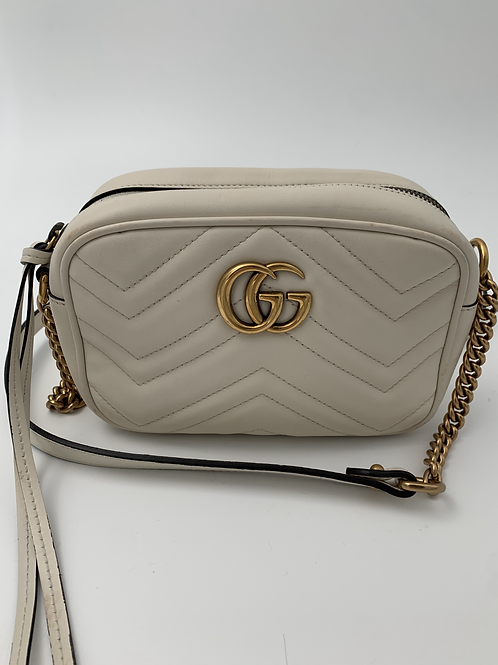 GUCCI GG Marmont Mini Matelassé Shoulder Bag