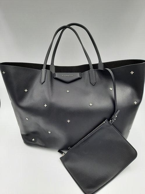 GIVENCHY Metal Crosses Antigona Shopping Bag