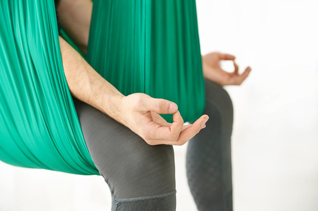 Rising Sun Restorative Aerial yoga