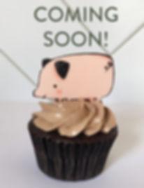 Cupcake pig Chocolate