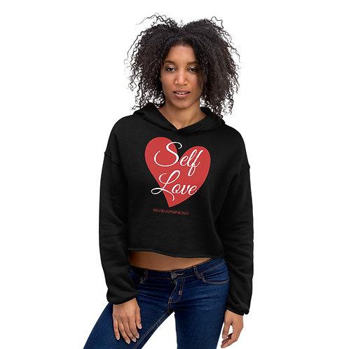 Self-Love crop hoodie
