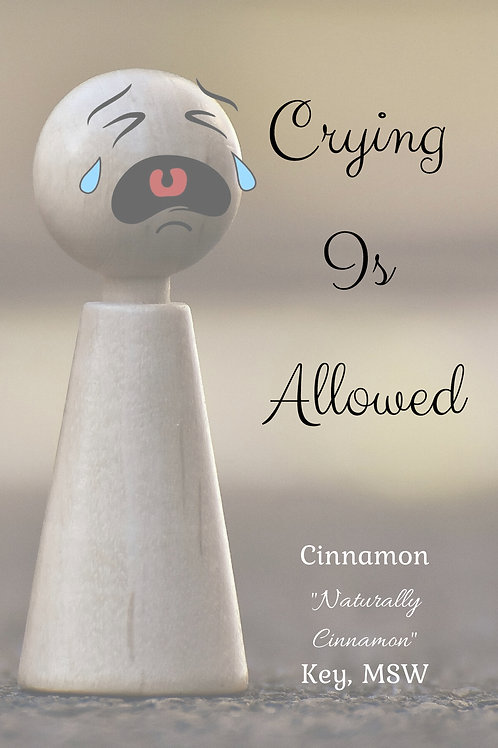 Crying Is Allowed book (signed)