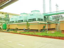 FRP cooling towers RCC basin