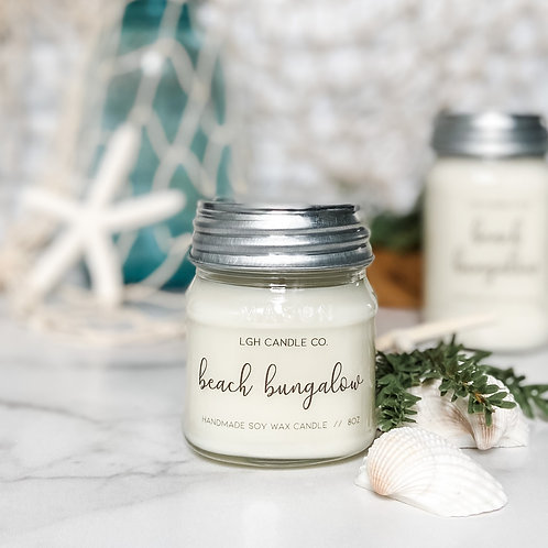 Beach Bungalow Soy Candle