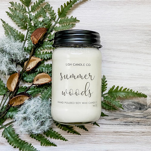 Summer Woods Soy Candle