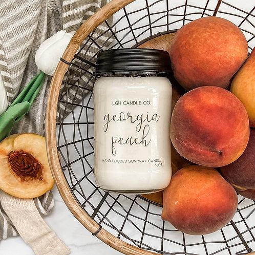 Georgia Peach Soy Candle