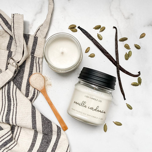 Vanilla Cardamom Soy Candle