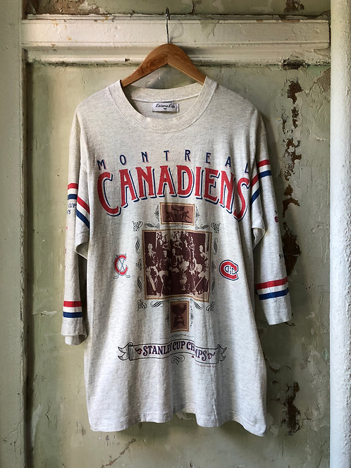 VINTAGE HOCKEY T-SHIRT