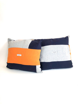 Color Block Accent Pillows