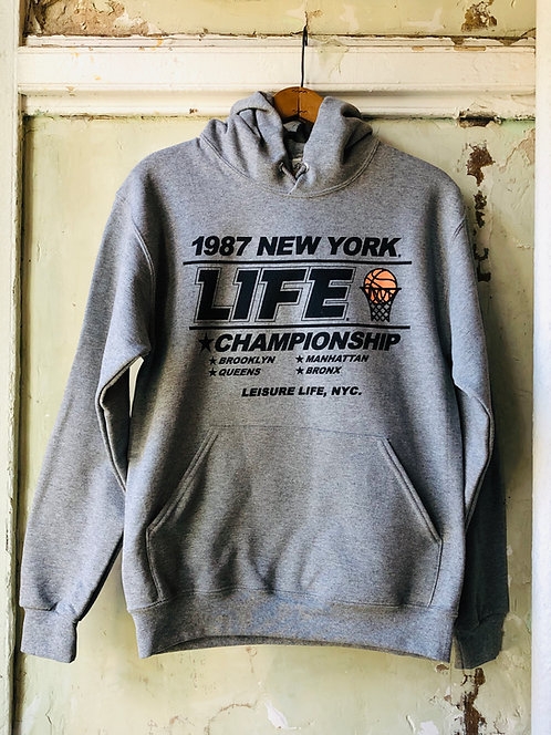 1987 Final Four Hoodie (Grey)