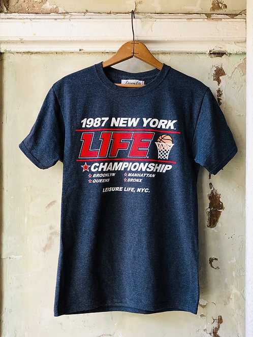 1987 Final Four Tee (Vintage Blue)