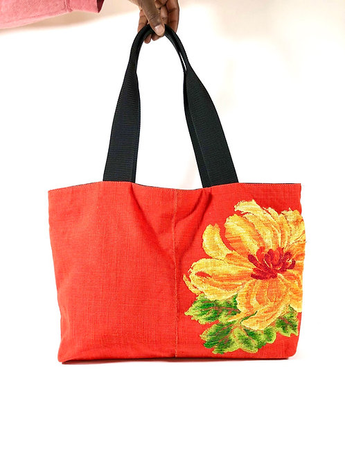 Japanese Obi Belt Tote Bag (RYF)