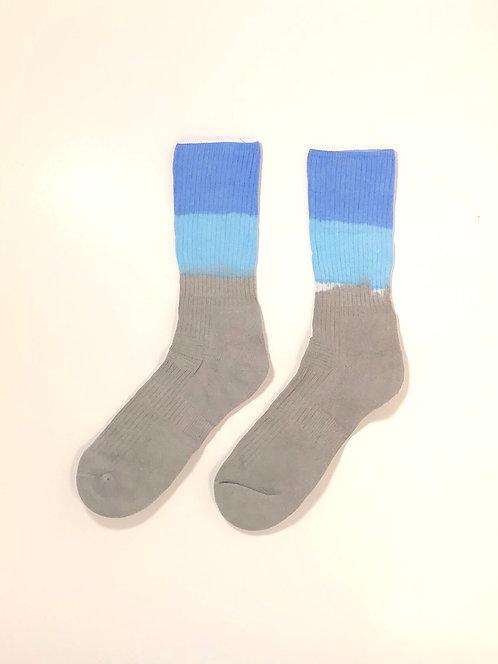 Dip Dyed Hi Socks (BLBG)