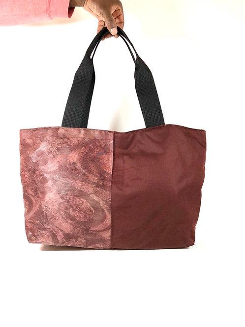 Japanese Obi Belt Tote Bag (M)