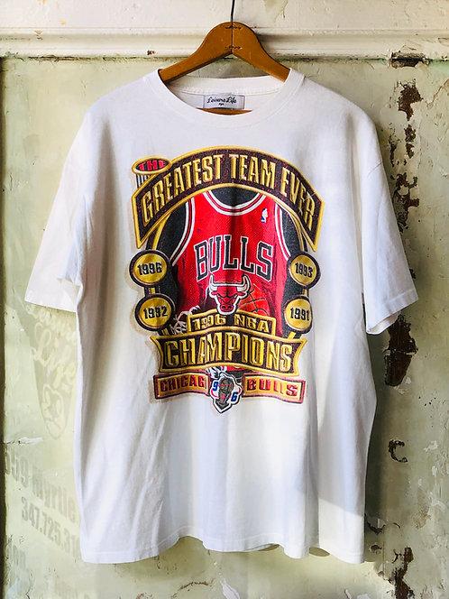 "Michael Jordan ERA Chicago Bulls ""The Greatest Team Ever"" T-shirt"