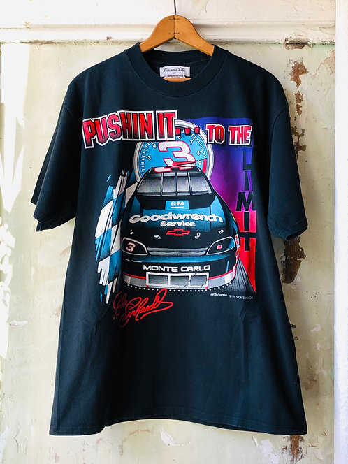 "Dale Earnhardt ""PUSHIN IT TO THE LIMIT"" T-shirt"