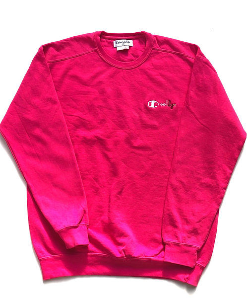 Crooklyn Crewneck (Perfect Pink)