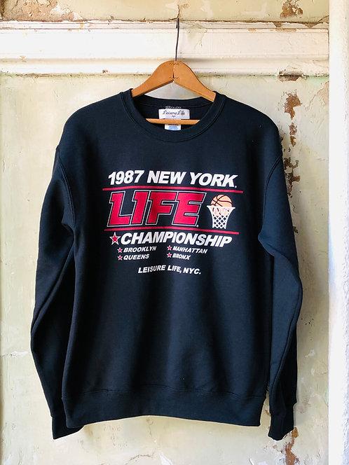 1987 Final Four Crewneck (Black)