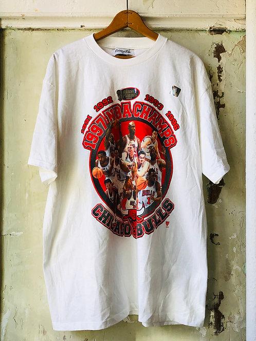 Chicago Bulls 1997 NBA CHAMPS T-shirt