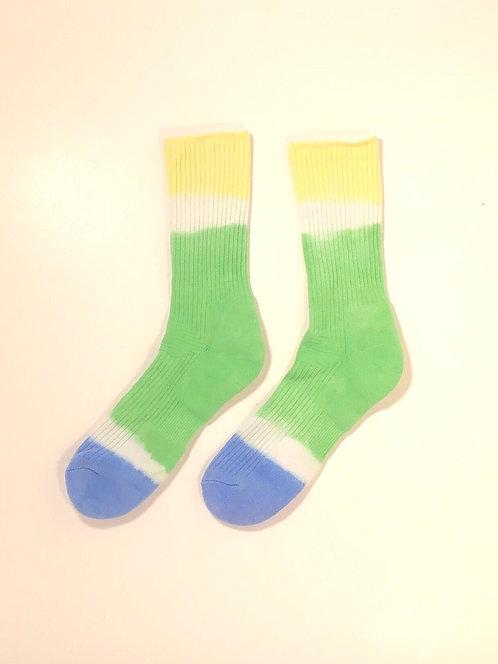Dip Dyed Hi Socks (YGB)