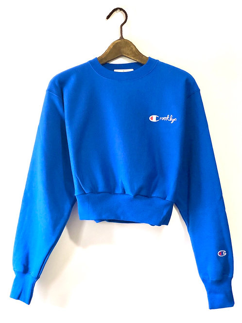 Crooklyn Crop Top (Royal Blue)