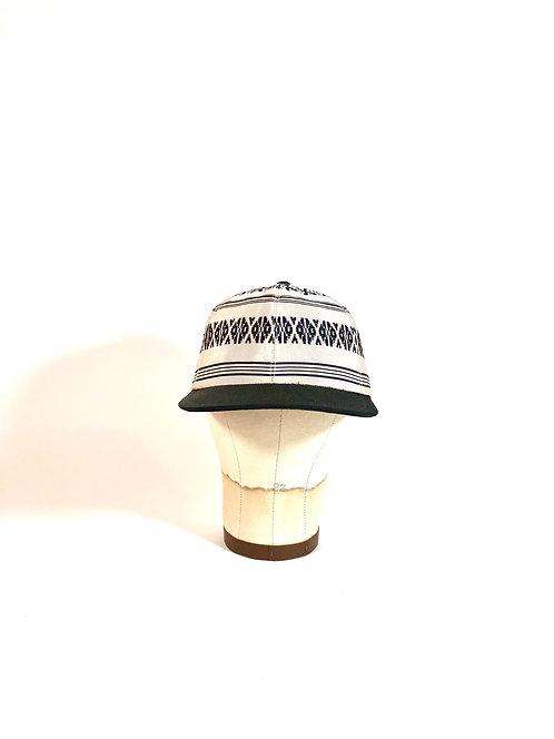 Japanese Obi Belt Cap (B/W)
