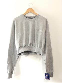 Crooklyn Crop Top (Oxford Grey)