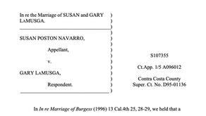 What is the LaMusga case?