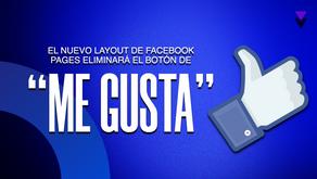 """El nuevo diseño de Facebook Pages, eliminará el botón de """"Me gusta"""""""