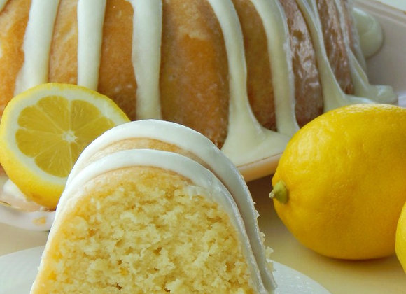Touch of Lemon Pound Cake