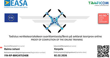 Drone-pätevyystodistus_ProofOfCompetency
