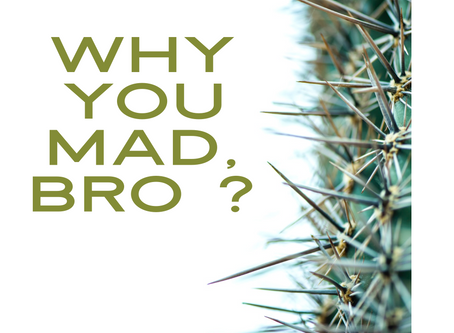 Why You Mad, Bro?