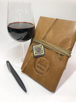Journal and Wine