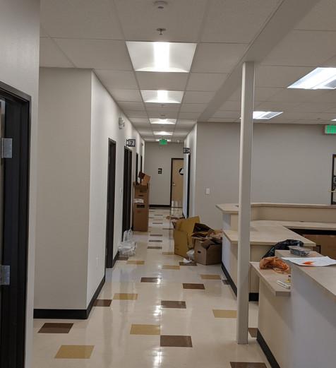 Corridor in Ampla Health