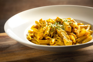 Maple Curried Chicken Penne