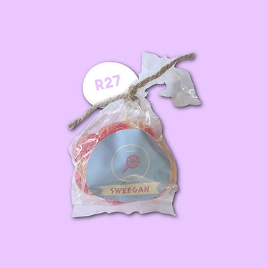 Peach Sour Gummies 100g R27 (5 LEFT)