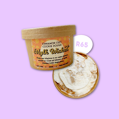 Cinnamon Cult Cookie Dough 250ml R65