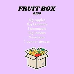 Fruit Box R150