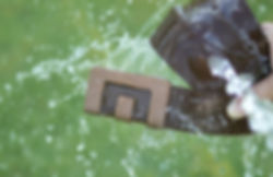 MIN Belt is water resistant.