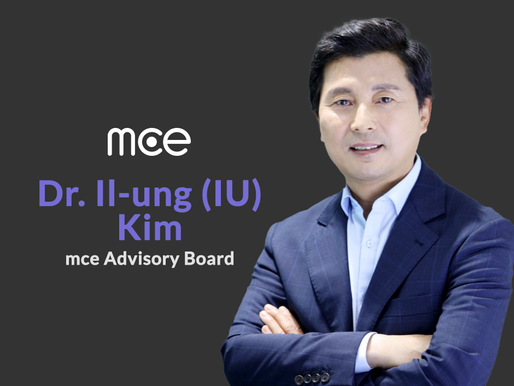 Dr. Il-ung (IU) Kim, President of SK Telecom (HK Office) is joining mce Advisory Board