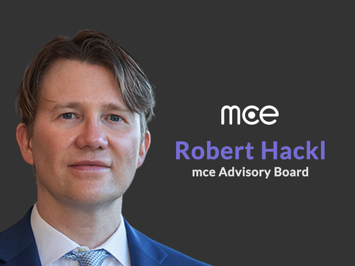 mce Signs Up Former SPRINT Senior Executive, Robert Hackl as an Advisory Board Member